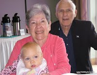 My mother and Father with Great Grandchild